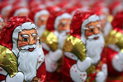 Weihnachtsmannaktion der SV