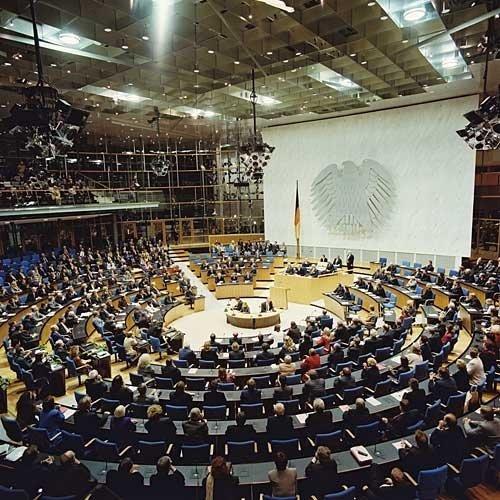 Drei Tage Abgeordneter des Deutschen Bundestages