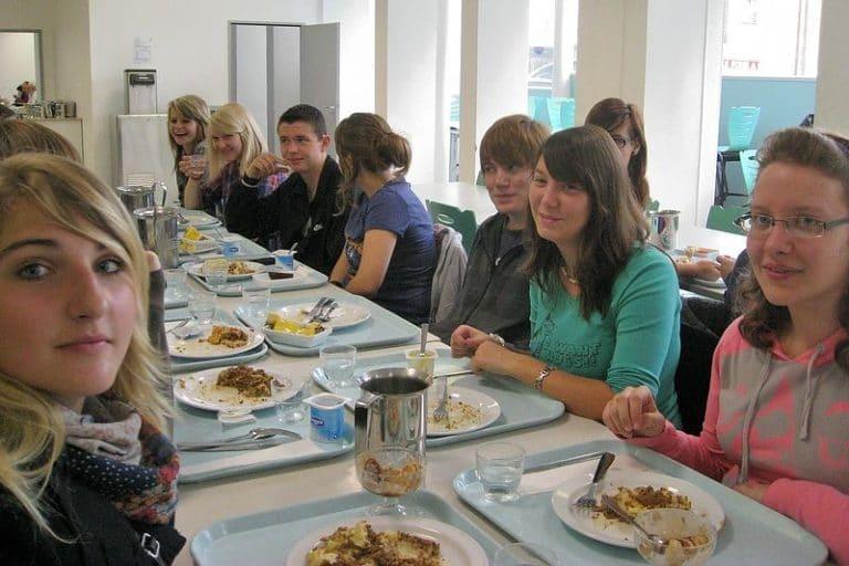 Bon appétit – in der Kantine des Lycée Carnot