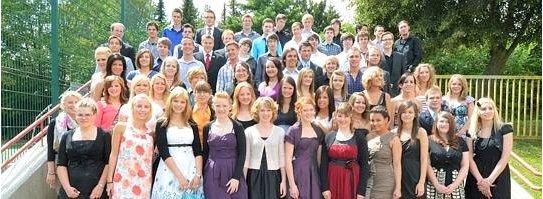 Die Abiturienten 2011 Gesamtschule Fröndenberg (FOTO: WR)