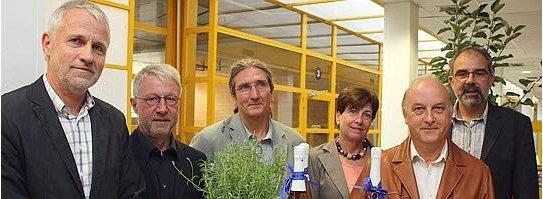 Verabschiedung Lehrer Gesamtschule Fröndenberg: von links nach rechts: Rudolf Potthoff Gerd Wolf Dirk Tadday Ingrid Ploghöft Dieter Zumbroich