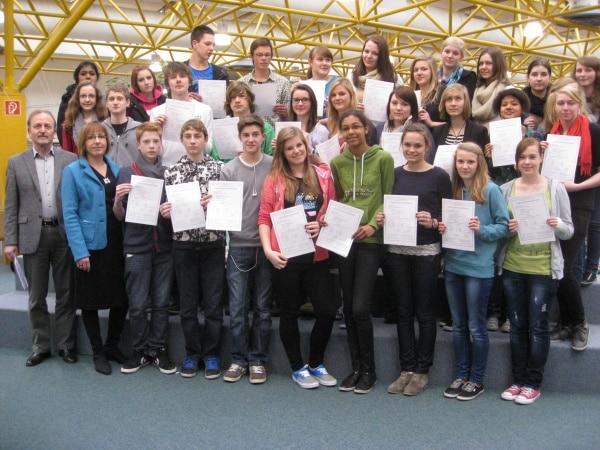 Schüler der GSF bestehen DELF-Prüfung