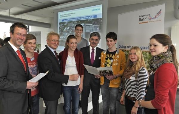Ein Tag bei Siemens in Krefeld