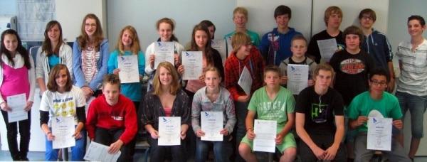 MINT-Schüler beim Chemiewettbewerb erfolgreich