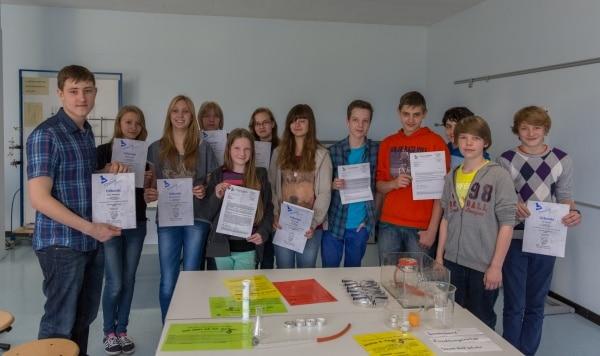 """Preisträger """"Chemie entdecken"""""""