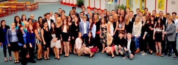 Zeugnisübergabe Abitur Gesamtschule Fröndenberg 2013Foto: Laura Millmann