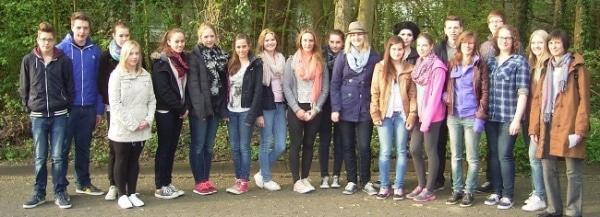 Schüleraustausch mit Bruay – La – Buissière im April 2014