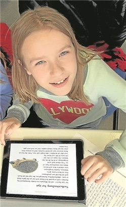 Mit den besseren Internetverbindungen lässt es sich an der Gesamtschule seit Anfang des Jahres ruckelfrei lernen.Archiv