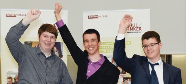 GSF macht 2. Platz beim Schulbanker-Wettbewerb