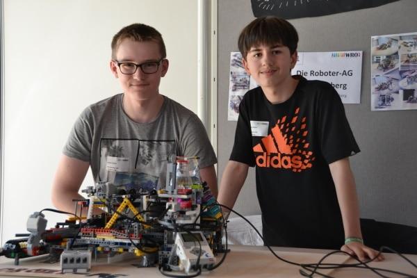 Beim Roboterwettbewerb in Lünen
