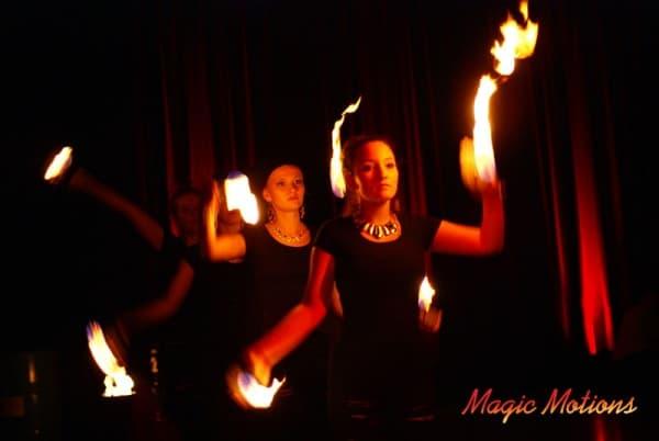 Klassische Musik trifft auf spektakuläre Feuershow