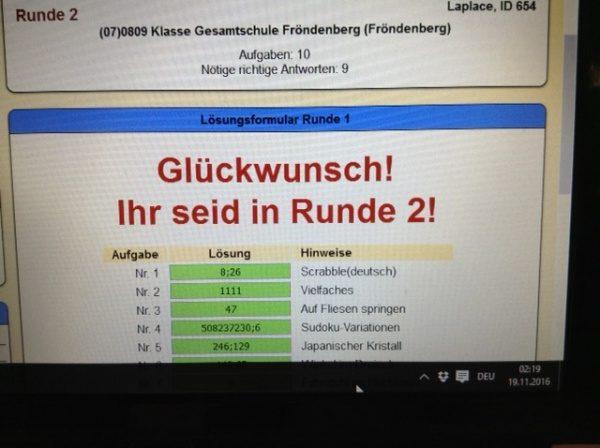 """""""Lange Nacht der Mathematik"""" an der Gesamtschule Fröndenberg"""