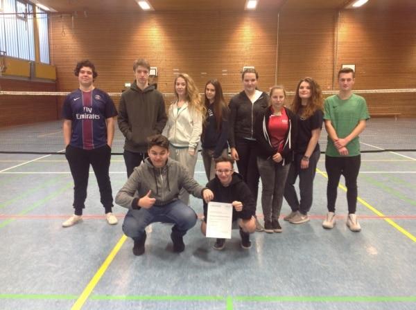 GSF erneut Kreismeister im Badminton