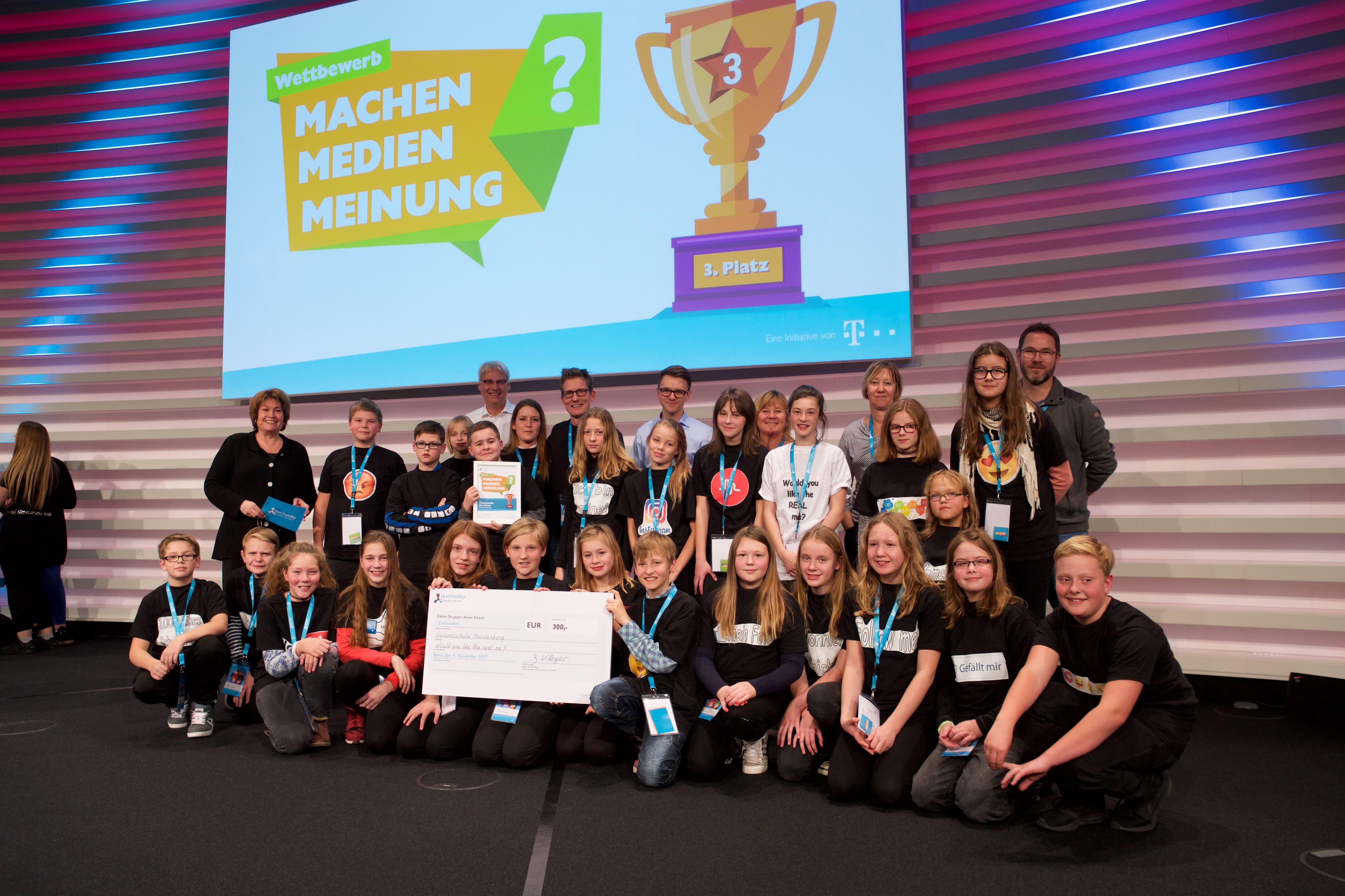 """GSF macht 3. Platz im bundesweiten Wettbewerb """"Medien, aber sicher"""""""