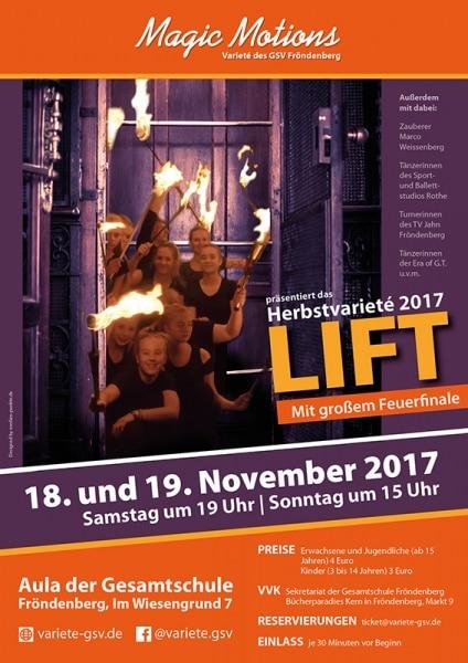 "Volles Programm im ""Lift"""