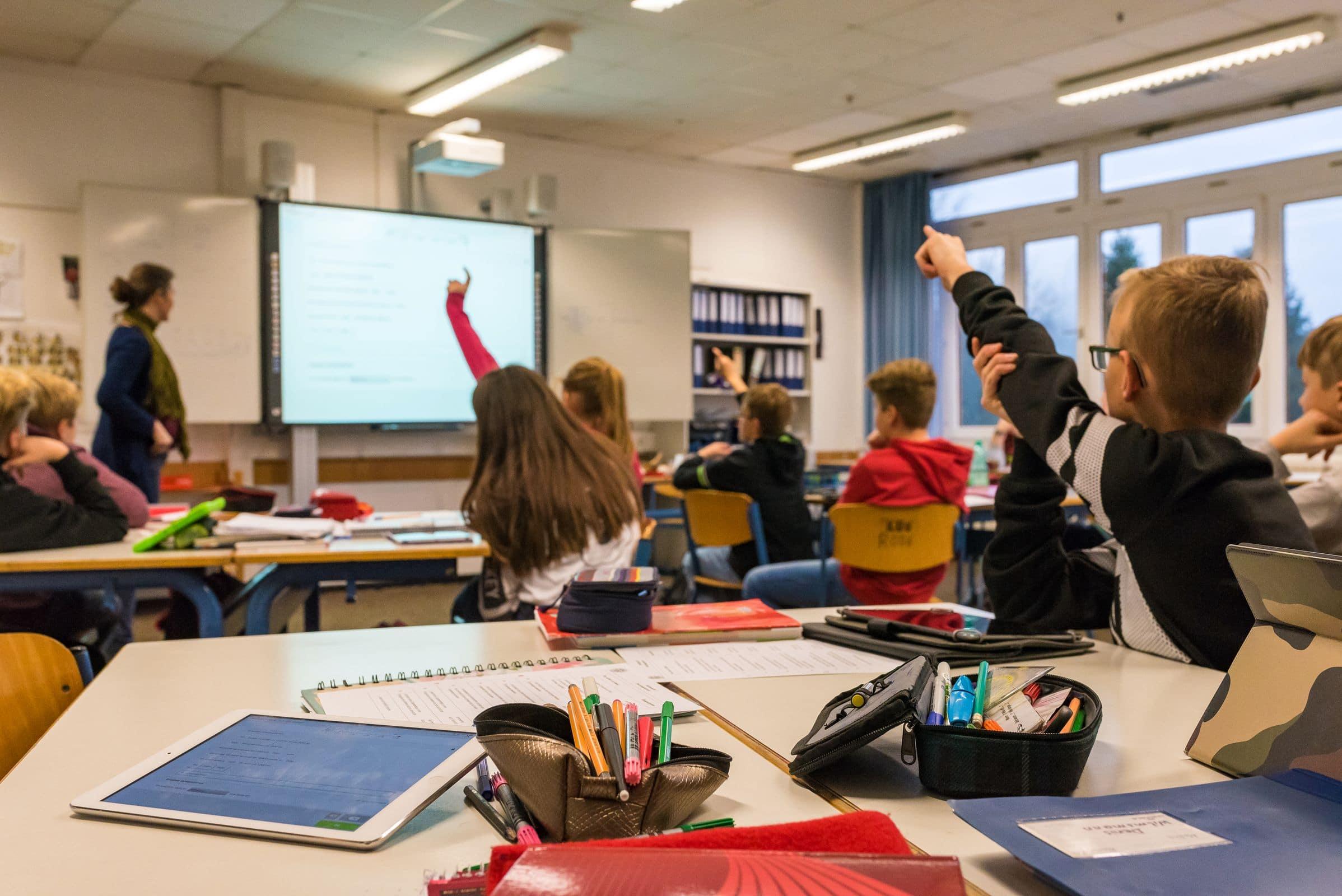 Digitales Lernen steht im Mittelpunkt