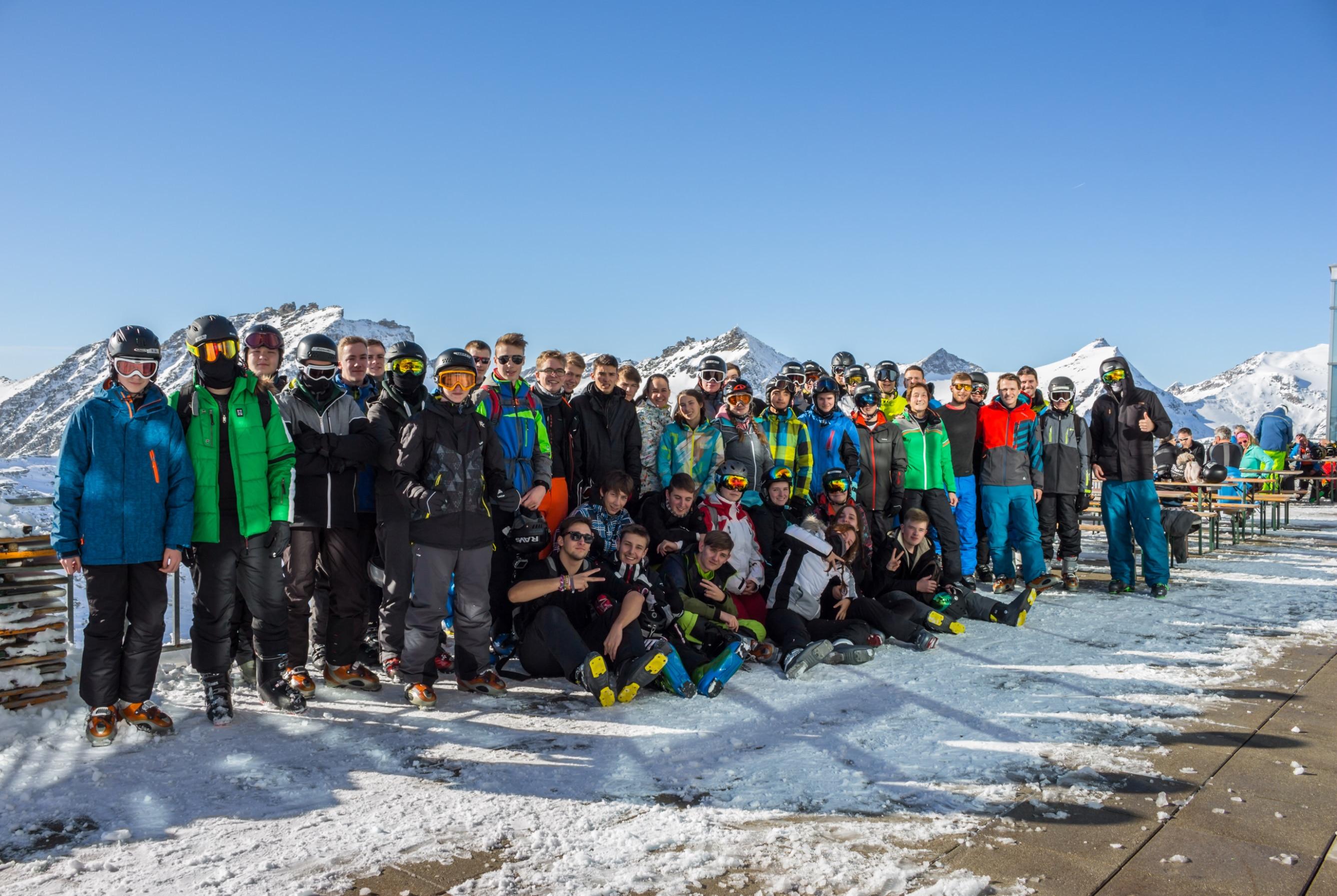 Skiprojekt 2017 – Fahrt zum  Mölltaler Gletscher