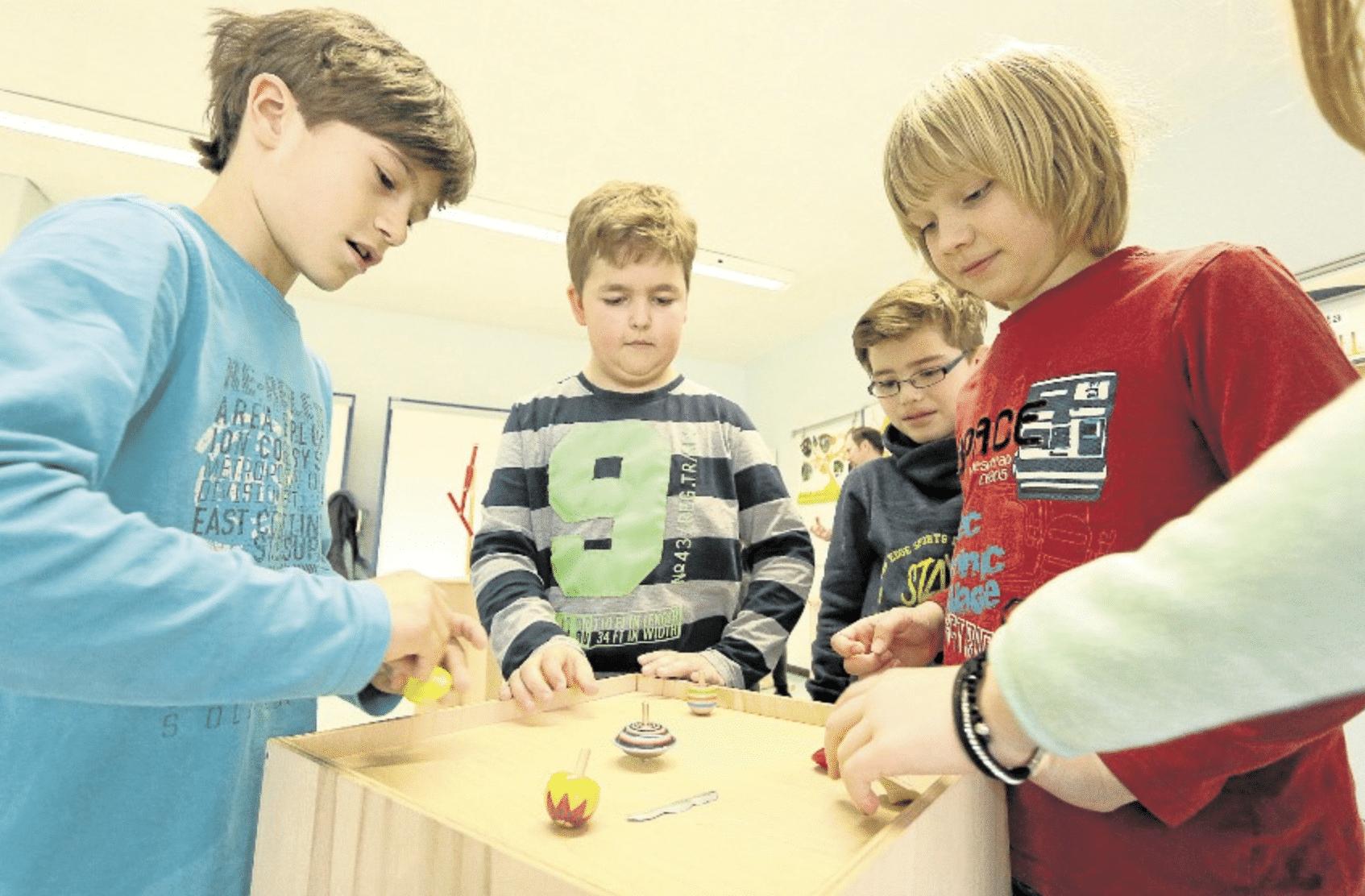 Kreiseln, drehen und experimentieren