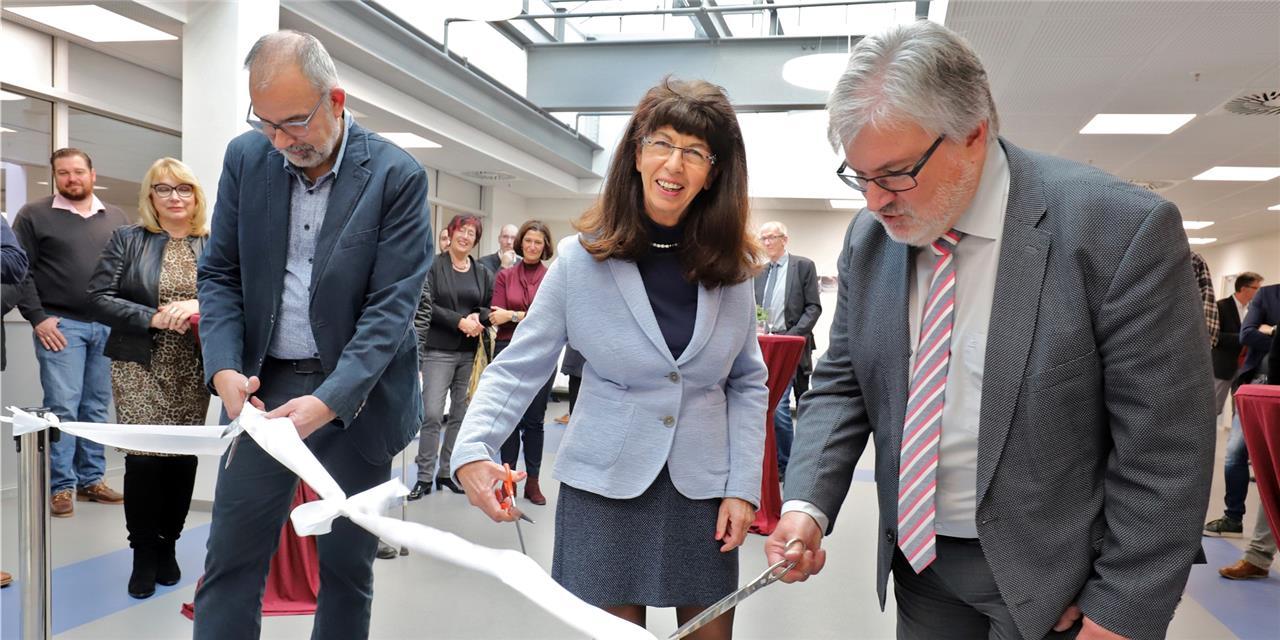 Schneller als der Berliner Flughafen – Erster Jahrgangsbereich der GSF pünktlich eröffnet
