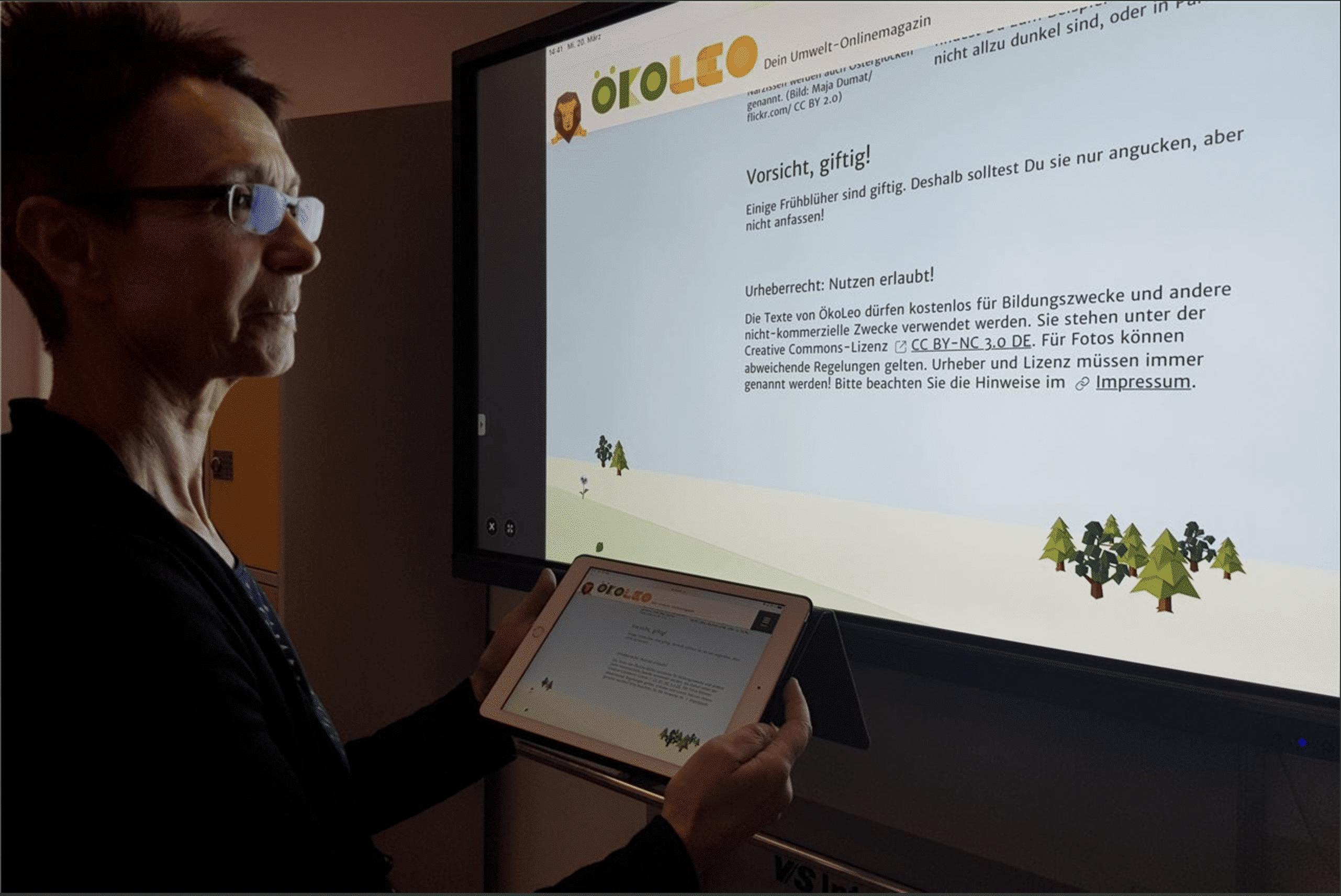 Ende der Kreidezeit: Schüler der Gesamtschule Fröndenberg lernen am Bildschirm