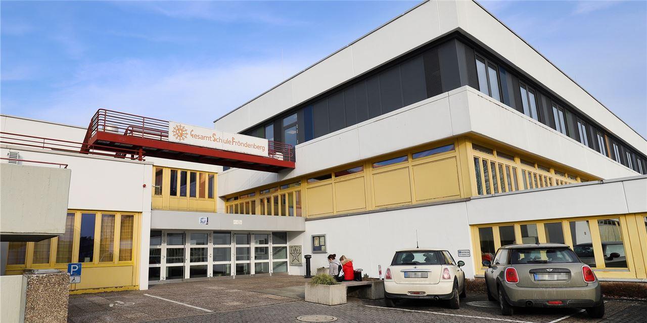 Langwierige Bauphase an der Gesamtschule Fröndenberg sorgt für Überraschung