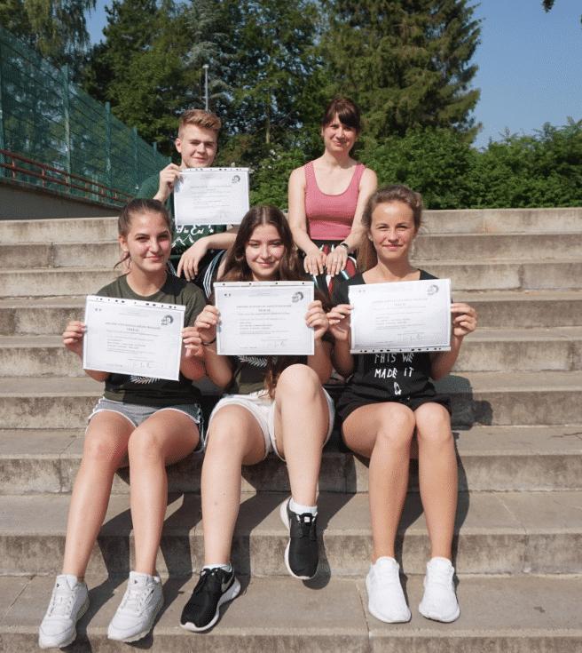 Diplome im Fach Französisch – Erfolgreiche Teilnahme an der DELF- Prüfung