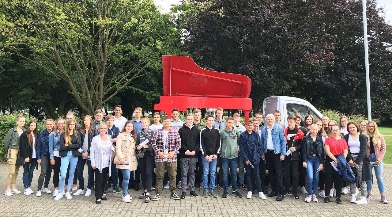 Schülerinnen und Schüler der GSF zu Gast beim Klavier-Festival Ruhr